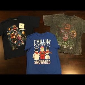 Other - Character T-Shirt Bundle - Medium